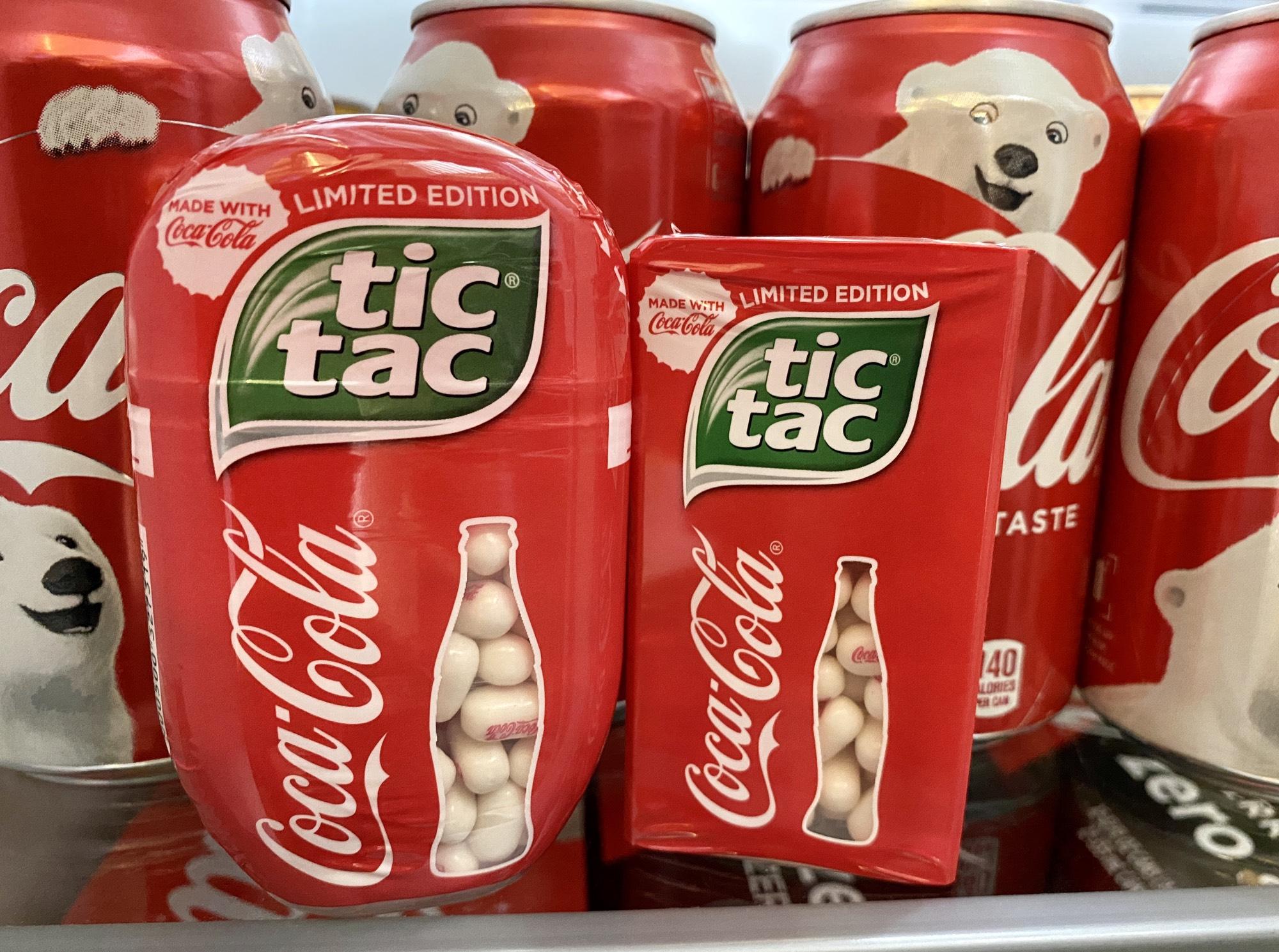 Tic tac cola